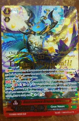 Cardfight Vanguard 1X Omniscience Dragon Fernyiges Sgr G Chb02 Great Nature Eng