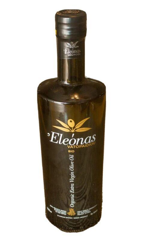 "Organic Extra Virgin Olive Oil  ""Eleona ""500ml (High polyphenols)"
