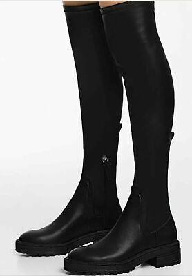 Overkneestiefel Boots Crotch  Stiefel Schwarz Leather NEU online kaufen