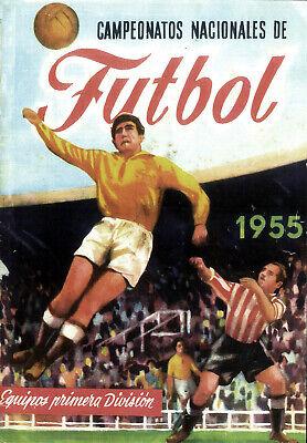 ALBUM CROMOS FUTBOL 54-55 RUIZ ROMERO FACSIMIL COMPLETO Y NUEVO
