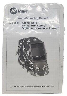 Miller Auto Darkening Welding Lens Replacement Digital Elite Pro-hobby Performan