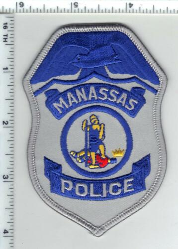 Manassas Police (Virginia) Shirt/Jacket Patch from the 1980