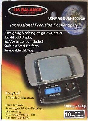 US-Magnum-1000XR precision digital scale weighs g,oz,gn,dwt,ct,ozt
