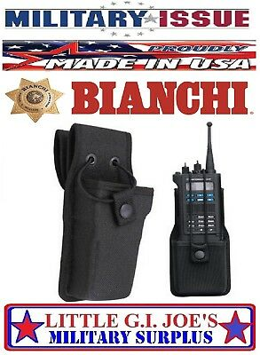 Bianchi 19697 7324s Accumold Universal Radio Holder 2.25 Loop Military Issue