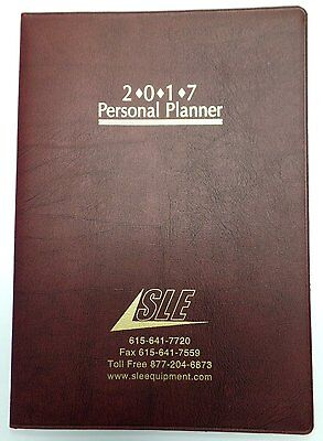 2018 Academic Monthly Day Daily Planner Organizer Calendar 7x10 Red