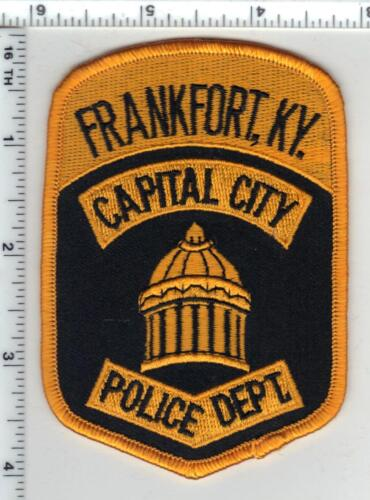 Frankfort Capital City Police (Kentucky) 4th Issue Shoulder Patch