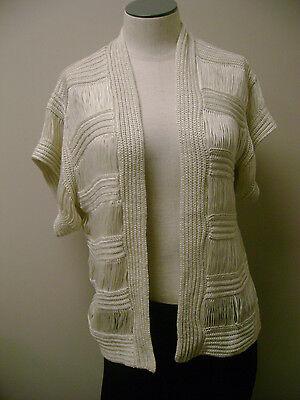 Rxb Crocheted Cardigan Sweater S