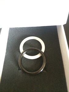 Original Charlotte Ring Set Keramik Gr. 16