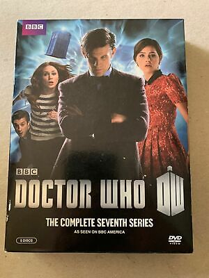 Doctor Who: The Complete Series Seven (DVD, 2013, 5-Disc Set)