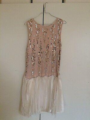 vintage Kleid 20er Jahre unikat