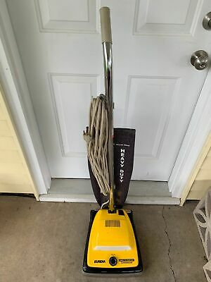 Electrolux / Eureka C2094 Commercial Upright Vacuum Cleaner Yellow / Black for sale  Shorewood