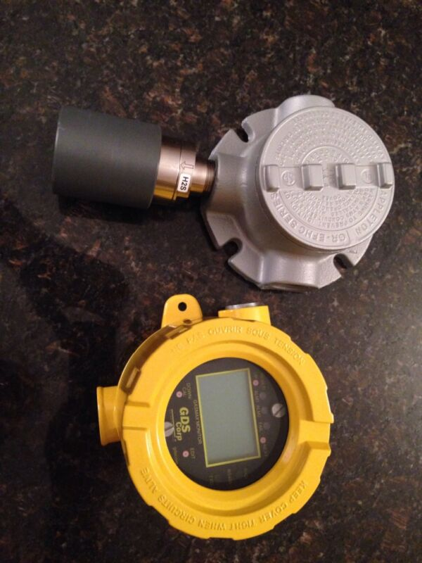 NEW GDS Corp. Gasmax toxic monitor & GDS toxic gas sensor