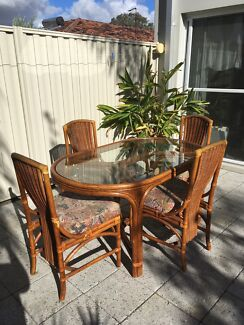 Vintage Tiki Dining Table u0026 Chairs Authentic Retro
