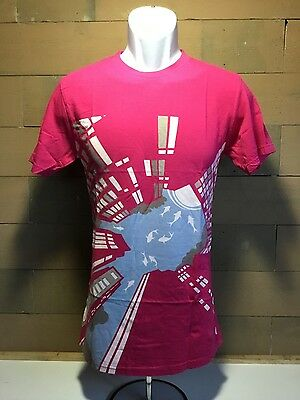Pink T Shirt   High Rise Buildings  Medium Size