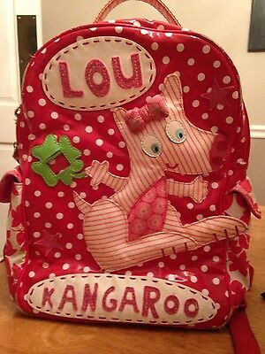 Cute Room Seven Oilily Boutique Kids Lou Kangaroo Backpack Red & White Polka Dot](Cute Childrens Boutiques)