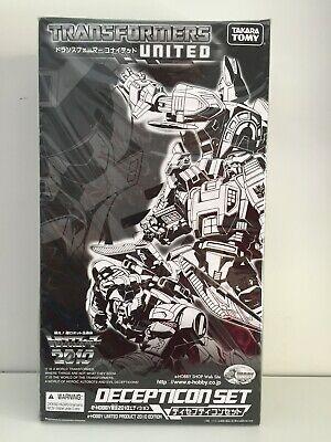 [NIB] Takara Transformers United Decepticon Set E-Hobby Limited