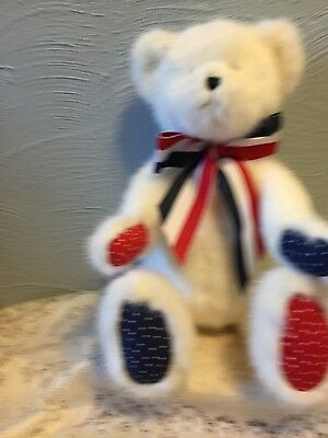 "Boyds Bears""Franklin B Beansley"" 14"" July Bear of Month-#919846-NWT-2005-Retired"
