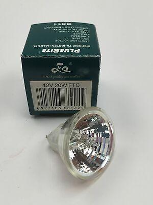 (20) PLUSRITE FTC 20W 12V MR11 Spot SP halogen light bulb 20w Mr11 Halogen Bulb