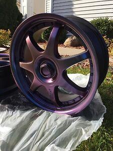 Motegi FF7 7.5x17 iris flip (color changing violet)