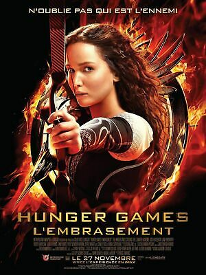 DVD HUNGER GAMES TITRE : L EMBRASEMENT for sale  Shipping to Nigeria