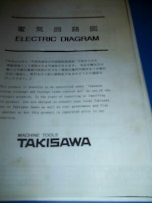Takisawa Mac-vo Electrical Diagram Manual
