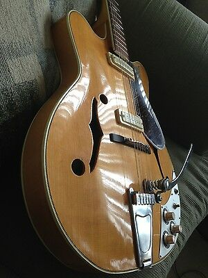 "1965 Vintage Guitar Electric Suzuki Japan ""Rare"" Set Neck"