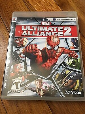 Usado, Marvel: Ultimate Alliance 2 PS3 W/Manual (original replacement case) NO GAME comprar usado  Enviando para Brazil