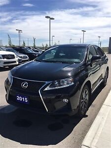 2015 Lexus RX 350 6A F Sport, NAV, Heads UP Display,AWD, V6, Lea