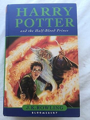 Harry Potter And The Half Blood Prince Rare 1st Ed/1st Print Misprinted page (Harry Potter And The Half Blood Prince Pages)