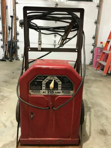Lincoln AC-225-S Arc Welder with cart