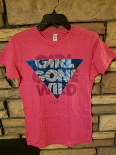MADONNA Womens Shirt XL Pink 2012 MDNA Girl Gone Wild Live Concert Exclusive NEW
