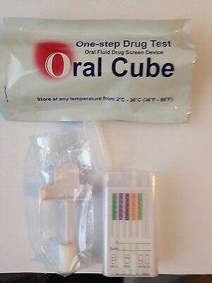 Saliva Drug Test   5 Drugs  Thc Meth Coc Opi Amp Mamp