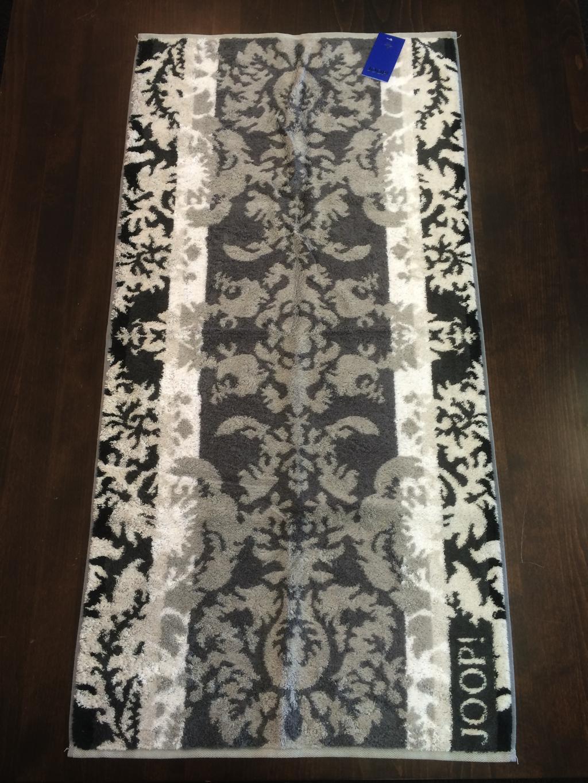 joop handtuch elegance ornament 1623 basalt ebay. Black Bedroom Furniture Sets. Home Design Ideas