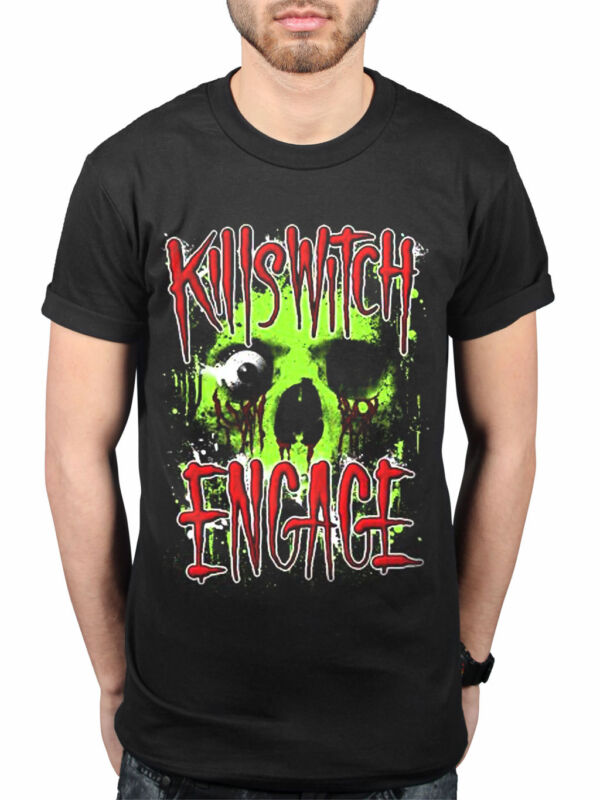 Killswitch Engage Alive Or Just Breathing Black T Shirt New Official Band Merch
