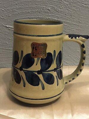 Vintage! GK Osterr Edelkeramik Gollico Fayence mug Austria