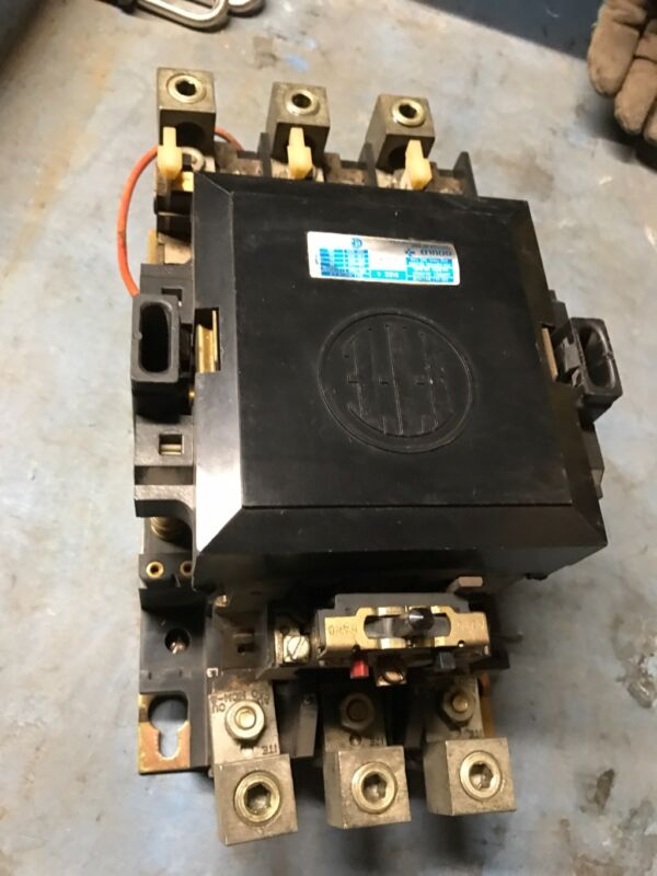 ITE Contactor Size 4 A203F 150A 3PH 600VAC 3 Pole Unit