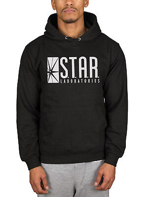 Official DC Originals Flash Star Labs Logo Hooded Jumper Hoodie Pullover Merch