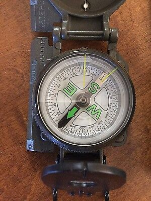Quality Metal Compass, survival, army, military camping hiking mapping surplus