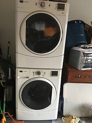 MAYTAG 2000 Series Front Load, Stackable Option, HE Washer and Dryer Set
