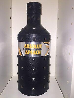Absolut Vodka APEACH Rock Edition Skin 700ml Uncut Banderole Empty No Alcohol