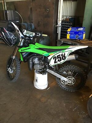 Picture of A 2014 Kawasaki KX 100
