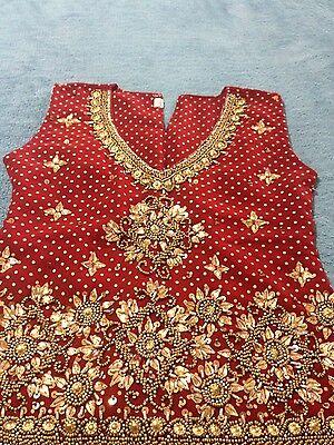 Girls Ghagra Choli Indian Dress.