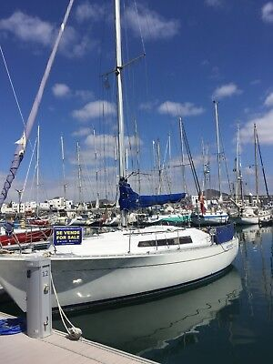 Yacht boat in Lanzarote Canary Islands, REDUCED!
