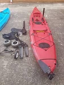 Hobbie kayak revolution, pedal drive, Ocean kayak Sans Souci Rockdale Area Preview