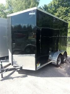 2018 Haulin HLAFTX612TA2 6 x 12 Tandem Enclosed Trailer
