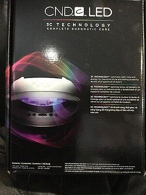 CND LED LIGHT Lamp Professional Shellac Nail Dryer 3C Technology UV
