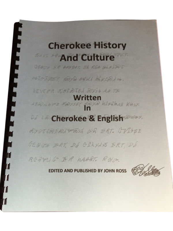 Cherokee History and Culture
