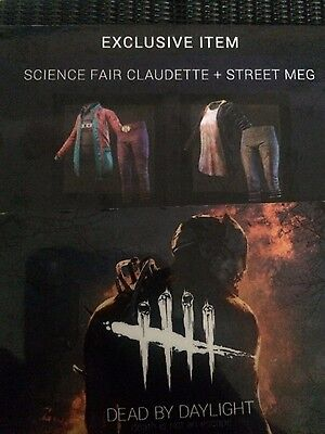 Dead By Daylight: Science Fair Claudette + Street Meg EXCLUSIVE