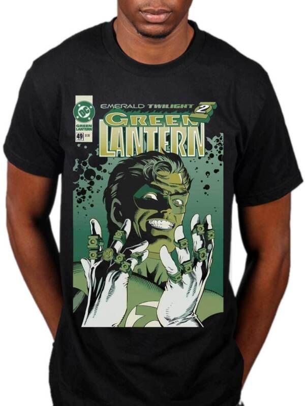 77f894926 Details about Official Green Lantern Emerald Twilight T-Shirt DC Comics  Superhero Marvel Merch