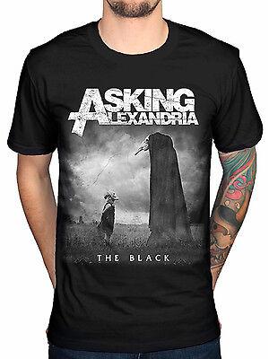Asking Alexandria The Black Mens Cotton Top T Shirt Tee